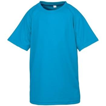 textil Pojkar T-shirts Spiro S287J Havsblått