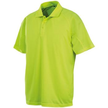 textil Herr Kortärmade pikétröjor Spiro S288X Flo Yellow