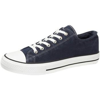 Skor Herr Sneakers Dek  Marinblått