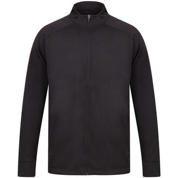 textil Herr Sweatjackets Finden & Hales LV871 Svart/Svart