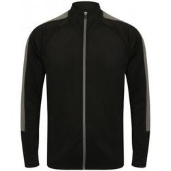 textil Herr Sweatjackets Finden & Hales LV871 Svart/Gunmetal