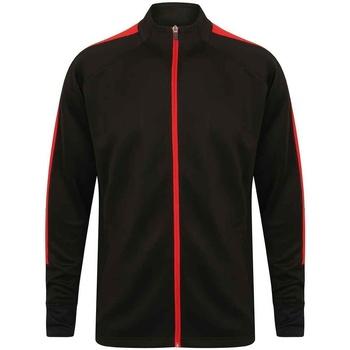 textil Herr Sweatjackets Finden & Hales LV871 Svart/röd