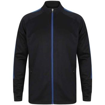 textil Herr Sweatjackets Finden & Hales LV871 Marinblått/Royal