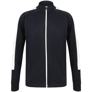 textil Herr Sweatjackets Finden & Hales LV871 Marinblått/vit