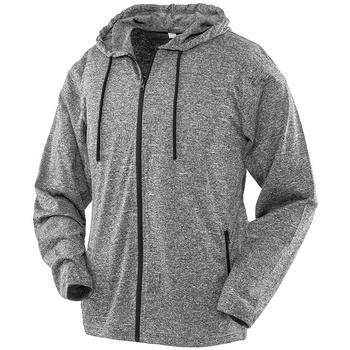 textil Dam Sweatshirts Spiro S277F Marl Grå