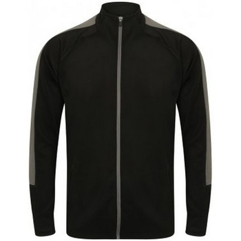 textil Pojkar Sweatjackets Finden & Hales LV873 Svart/Gunmetal
