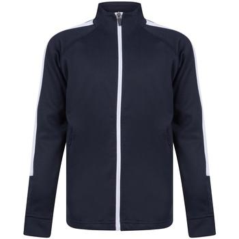 textil Pojkar Sweatjackets Finden & Hales LV873 Marinblått/vit