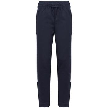 textil Pojkar Joggingbyxor Finden & Hales LV883 Marinblått/vit