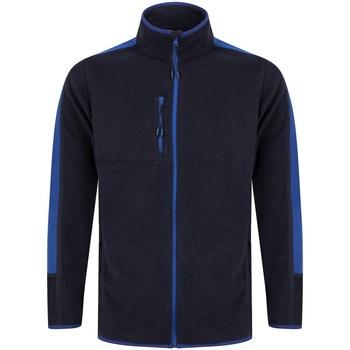 textil Fleecetröja Finden & Hales LV580 Marinblå/Royalblå