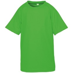 textil Barn T-shirts Spiro SR287B Flo Green