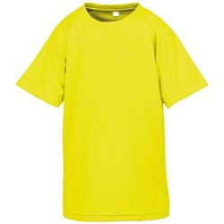 textil Barn T-shirts Spiro SR287B Flo Yellow