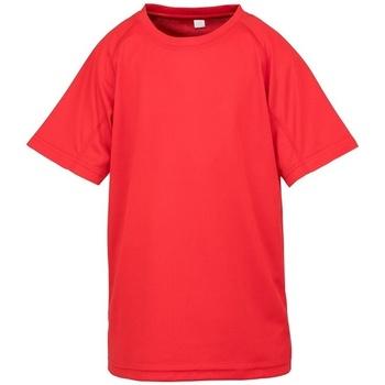 textil Barn T-shirts Spiro SR287B Röd