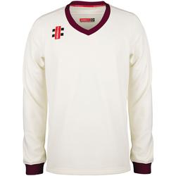 textil Barn Sweatshirts Gray-Nicolls GN29J Elfenben/Marron