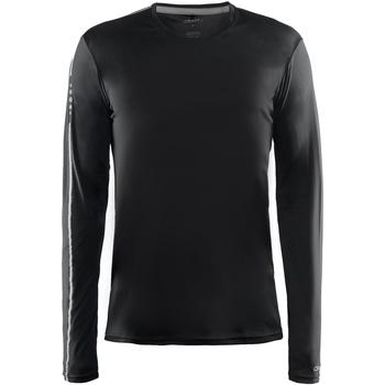 textil Herr Långärmade T-shirts Craft CT089 Svart