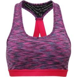 textil Dam Sport-BH Tridri TR920 Rosa rymdfärg