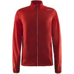 textil Herr Sweatjackets Craft CT053 Röd