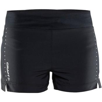 textil Dam Shorts / Bermudas Craft CT56F Svart