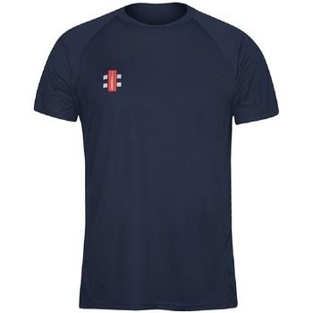 textil Herr T-shirts Gray-Nicolls GN005 Marinblått