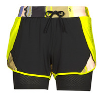 textil Dam Shorts / Bermudas Only Play ONPARI Gul / Svart