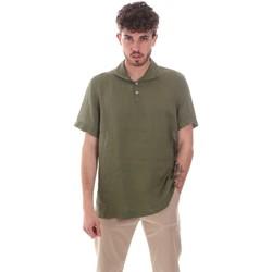 textil Herr Kortärmade skjortor Sseinse CE660SS Grön