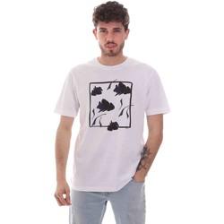 textil Herr T-shirts Sseinse TE1818SS Vit