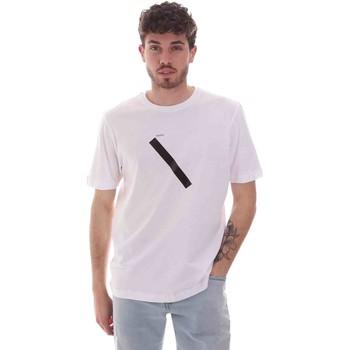 textil Herr T-shirts Sseinse TE1820SS Vit