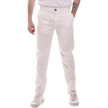 textil Herr Chinos / Carrot jeans Sseinse PSE699SS Vit