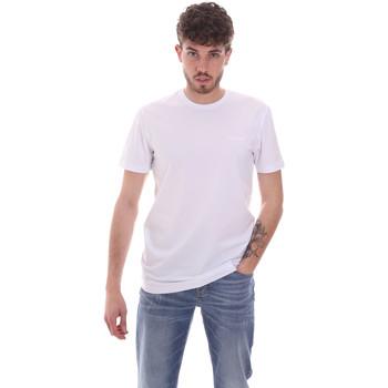 textil Herr T-shirts Antony Morato MMKS01855 FA120022 Vit