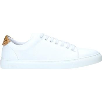 Skor Herr Sneakers Alviero Martini P172 578A Vit