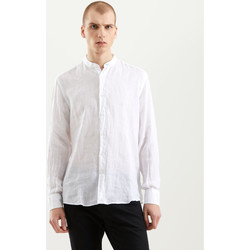 textil Herr Långärmade skjortor Refrigiwear RM0C10100LI9110 Vit