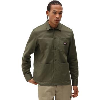 textil Herr Långärmade skjortor Dickies DK0A4XEIMGR1 Grön