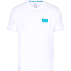 textil Herr T-shirts Ea7 Emporio Armani 3KPT50 PJAMZ Vit