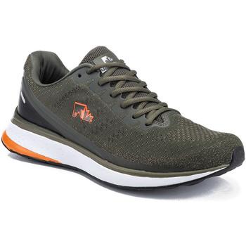 Skor Herr Sneakers Lumberjack SM77811 001EU C27 Grön