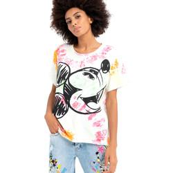 textil Dam T-shirts Fracomina FD21ST3024J400N5 Vit