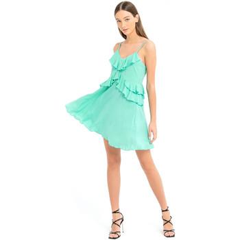 textil Dam Korta klänningar Fracomina FS21SD1008W42201 Grön