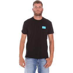 textil Herr T-shirts Ea7 Emporio Armani 3KPT50 PJAMZ Svart