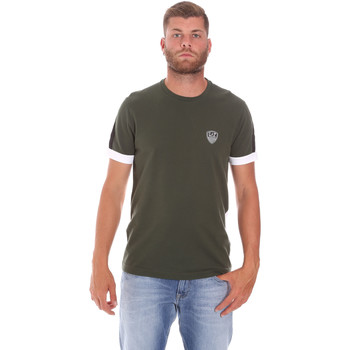 textil Herr T-shirts Ea7 Emporio Armani 3KPT56 PJ4MZ Grön