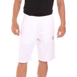 textil Herr Badbyxor och badkläder Ea7 Emporio Armani 3KPS59 PJ05Z Vit