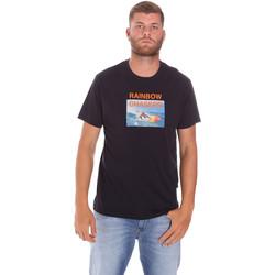 textil Herr T-shirts Sundek M047TEJ7800 Svart