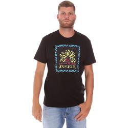textil Herr T-shirts Sundek M021TEJ78FL Svart