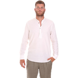 textil Herr Långärmade skjortor Sseinse CE611SS Vit