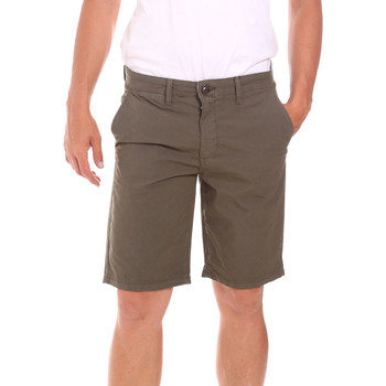 textil Herr Shorts / Bermudas Lumberjack CM80648 002EU Grön