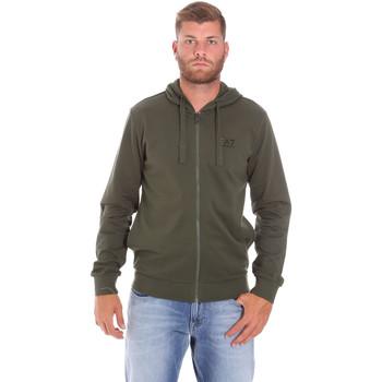 textil Herr Sweatshirts Ea7 Emporio Armani 8NPM03 PJ05Z Grön