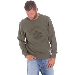 textil Herr Sweatshirts Lumberjack CM60142 016EU Grön