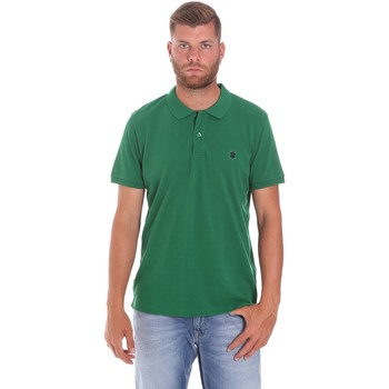 textil Herr Kortärmade pikétröjor Lumberjack CM45940 015EU 506 Grön