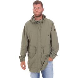 textil Herr Parkas Lumberjack CWB3321 001EU Grön