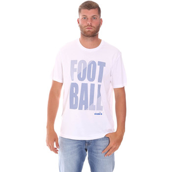 textil Herr T-shirts Diadora 102175854 Vit