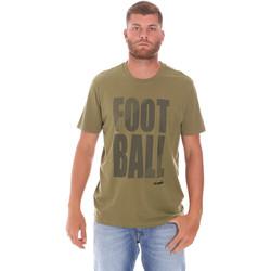textil Herr T-shirts Diadora 102175854 Grön