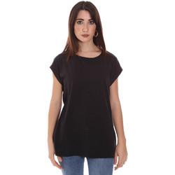 textil Dam T-shirts Lumberjack CW60343 011EU Svart