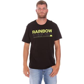 textil Herr T-shirts Sundek M058TEJ7800 Svart